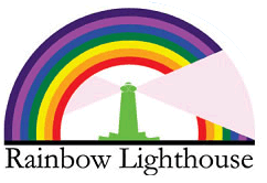 rainbow lighthouse